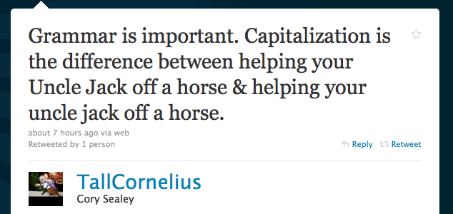 grammar-and-capitalization-are-important